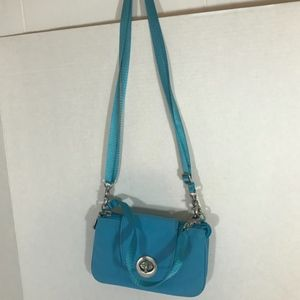 baggallini Light Blue Convertible Crossbody